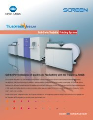 Full-Color Variable Printing System - Konica Minolta