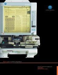 MS6000 MKII Brochure - Konica Minolta