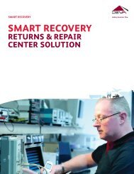 SMART RECOVERY - CEVA Logistics
