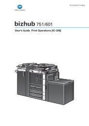 User's Guide Print Operations [IC-208] - Konica Minolta