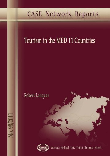 Tourism in the MED 11 Countries