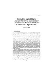 NUPI Forum for Development Studies No.2 – 1999