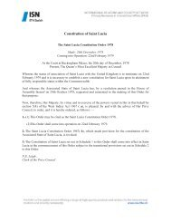 Constitution of Saint Lucia