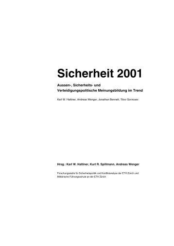 Sicherheit 2001 - ETH Zürich