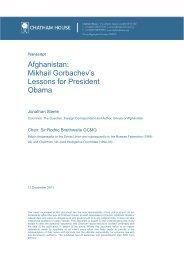 Afghanistan: Mikhail Gorbachev's Lessons for President Obama
