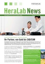 HeraLab News 03/2009 - Heraeus Kulzer