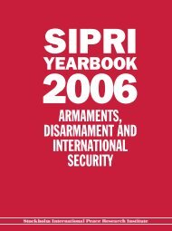 SIPRI Yearbook 2006