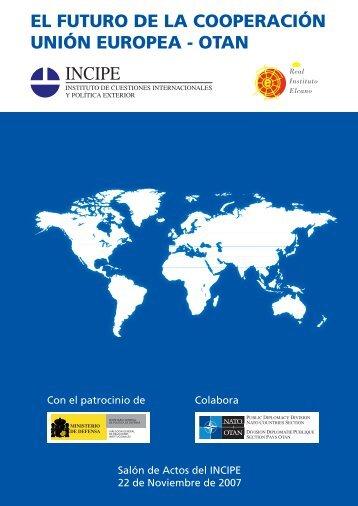 El Futuro de la cooperación Unión European - OTAN