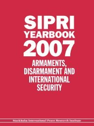 SIPRI Yearbook 2007