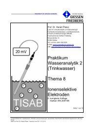 WAn2P, Thema 8 - und Biotechnologie (KMUB)