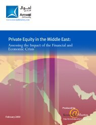 Private Equity in the Middle East:Assessing the Impact of the ...