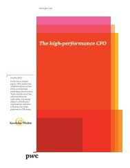The high-performance CFO - Knowledge@Wharton - University of ...