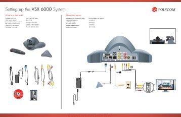 setting up the vsx 7000 system rh yumpu com polycom vsx 6000 user manual polycom hdx 6000 manual
