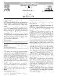 esmac - Análise de Marcha