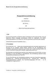Kooperationsvereinbarung - kobra.net