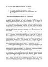117 QUANTITATIVE MORPHOLOGISCHE TYPOLOGIE 1 ... - Kodeks