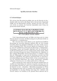 Sebastian Kempgen Spezifika slawischer Schriften 0 ... - Kodeks
