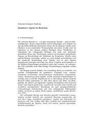 Sebastian Kempgen, Bamberg Quantitative Aspekte des ... - Kodeks