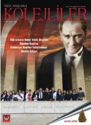 indirimli kuruluþlar - TED Ankara Koleji Mezunları Derneği
