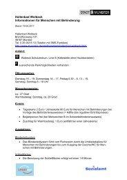 Hallenbad Wolbeck - Informationen für Menschen mit - KOMM Münster