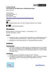 Freibad Hiltrup - Informationen für Menschen mit ... - KOMM Münster