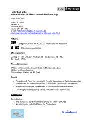 Hallenbad Mitte - Informationen für Menschen mit ... - KOMM Münster