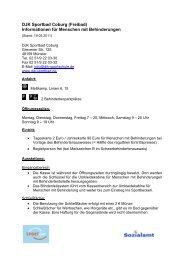 DJK Sportbad Coburg - Informationen für ... - KOMM Münster