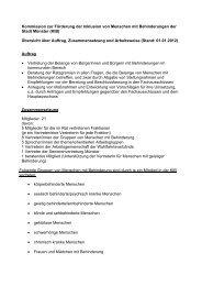 Info zur KIB in Münster - KOMM Münster