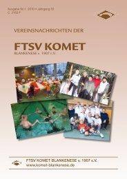 FTSV KOMET - Komet Blankenese