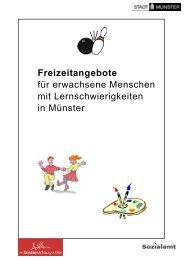 Freizeitangebote für erwachsene Menschen mit ... - KOMM Münster