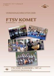 Vereinsnachrichten 4/2011 - Komet Blankenese