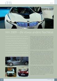 IAA 2009 – die etwas andere Nachlese