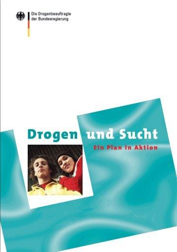 Drogen und Sucht. Ein Plan in Aktion (pdf, 32 S.) - Kompass