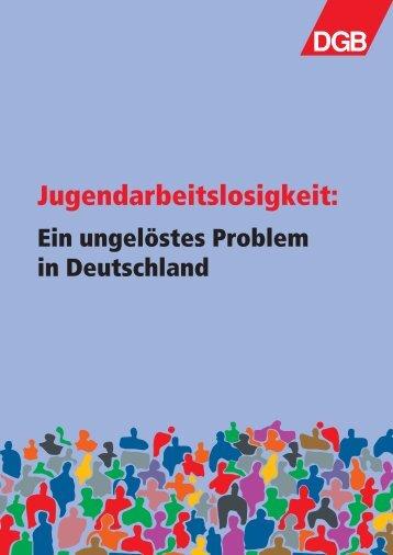 Jugendarbeitslosigkeit: ein ungelöstes Problem in ... - Kompass
