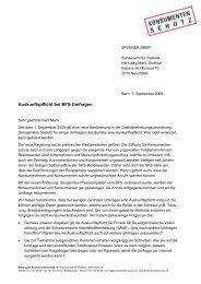 Auskunftspflicht bei BFS-Umfragen - Stiftung für Konsumentenschutz
