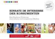 Kurzversion - Stiftung für Konsumentenschutz