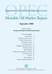 Monthly Oil Market Report - OPEC