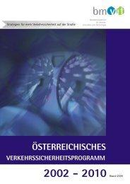 Österreichisches Verkehrssicherheitsprogramm 2002-2010/3 ...