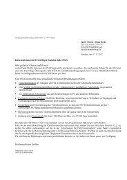 Informationen zum Freiwilligen Sozialen Jahr (FSJ) Sehr geehrte(r ...