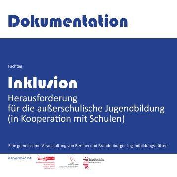 Inklusion Dokumentation - Landesjugendring Berlin