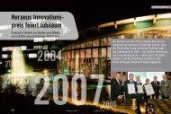 Heraeus Innovationspreis - Über Heraeus