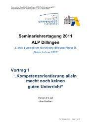 Kompetenzorientierung - Bayern