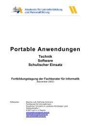 Portable Anwendungen