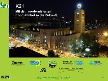 Klaus Arnoldi - Schlichtung Stuttgart 21