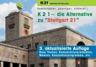 7. Das Projekt Stuttgart 21 (S21) - Kopfbahnhof 21