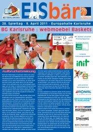 webmoebel Baskets Paderborn - BG Karlsruhe