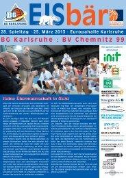 BG Karlsruhe : BV Chemnitz 99