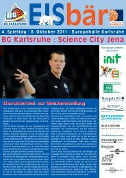 BG Karlsruhe : Science City Jena