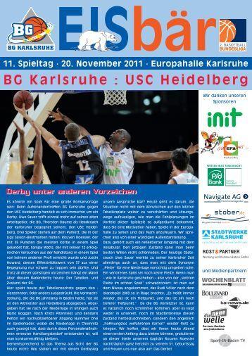 BG Karlsruhe : USC Heidelberg