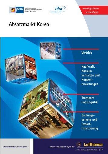 Absatzmarkt Korea - AHK Korea